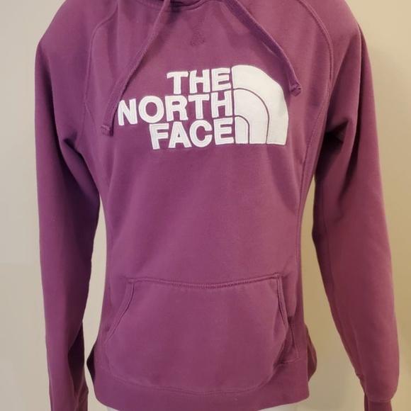 The North Face Pink Hoodie Medium